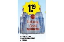 natural cool koolzuurhoudend 6 x 50 cl