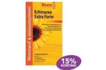 bloem echinacea extra forte en altheafleur hoestsiroop keelzuigtabletten of keelspray