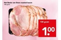 het beste van deen roasted bacon