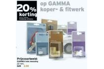 gamma koper en amp fitwerk