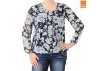 blouse met allover bloemenprint