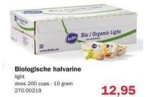 bebo biologische halvarine cups