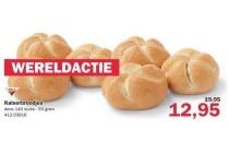 kaiserbroodjes zak 140 stuks