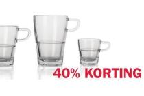 glazenserie senso en bull koffiebeker en euro 1 75