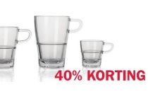 glazenserie senso en bull espressokopje 7 cl en euro 1 95