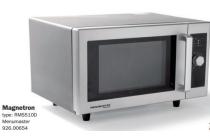 menumaster magnetron type rms510d en euro 289