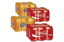 coca cola of fanta blikken