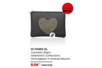 ici paris xl cosmetic bag s valentine collection