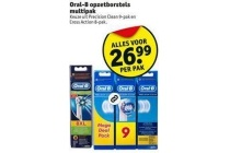 oral b opzetborstels en multipak