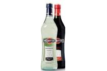 martini bianco fiero extra dry en rosso fles a 75 cl en euro 3 95