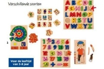 playtive junior houten leerpuzzel
