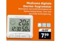medisana digitale thermo hygrometer