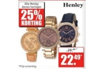 henley dameshorloges