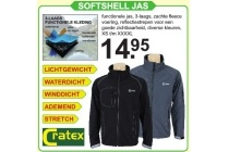 cratex softshell jas