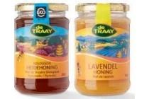 de traay biologische honing pot 350 gram en euro 4 95