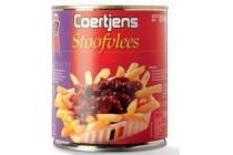 coertjens stoofvlees blik 850 gram en euro 4 95