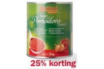 buitoni tomatencoulis dalla casa 25 korting