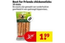 best for friends chickensticks
