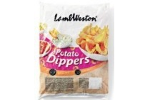 lamb weston potato dippers zak 2 5 kilo en euro 3 25