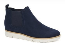 blauwe chelsea boots sportieve zool graceland
