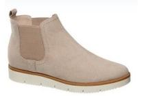 beige chelsea boots sportieve zool graceland