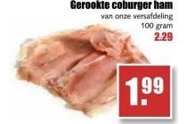 gerookte coburger ham