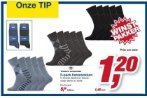 tom tailor 5 pack herensokken