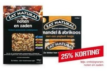 eat natural ontbijtgranen en repen