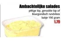 ambachtelijke salades voor en euro 1 19