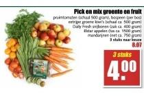 pick en mix groente en fruit