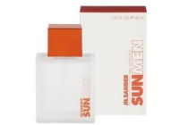 jil sander sun for men eau de toilette 40ml en euro 15
