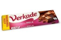 verkade chocoladereep 180 gram