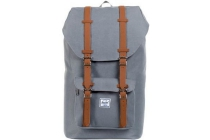 herschel little american grey tan pu