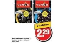 venco drop of tikkels
