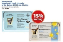 pharma nord vitamine d3 pearls 120 stuks of bio quinon q10 30 mg 30 stuks