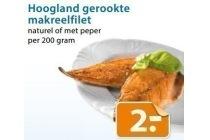 hoogland gerookte makreelfilet
