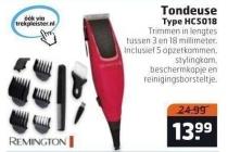 tondeuse type hc5018