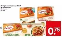 honig macaroni spaghetti of lasagnebladen
