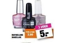 maybelline nagellak