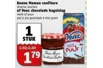 bonne mamam confiture of venz hagelslag