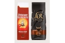 douwe egberts of l or koffiebonen