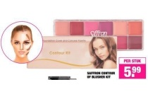 saffron contour of blusher kit