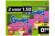 organix goodies fruit festijn framboos appel peer