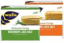 wasa delicate crisp en crunch sensation