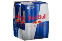 red bull energydrink 4 blikjes 250 ml nu eur3 49