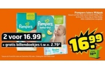 pampers luiers midpack