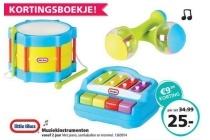 little tikes muziekinstrumenten