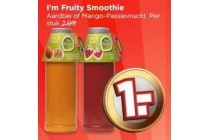 i m fruity smoothie