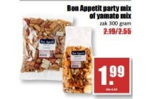 bon appetit party mix of yamato mix