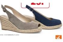 sandalette espradille sleehak